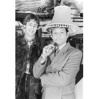 David Jason and Nicholas Lyndhurst (Only Fools and Horses)