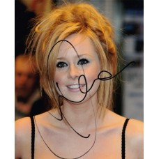 Diana Vickers autograph (The X Factor)