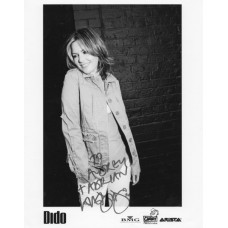 Dido dedicated autograph