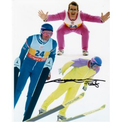 Eddie 'The Eagle' Edwards autograph £45
