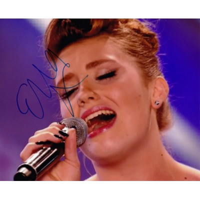 Ella Henderson autograph (The X Factor)