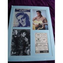 Elvis Presley autograph (dedicated)