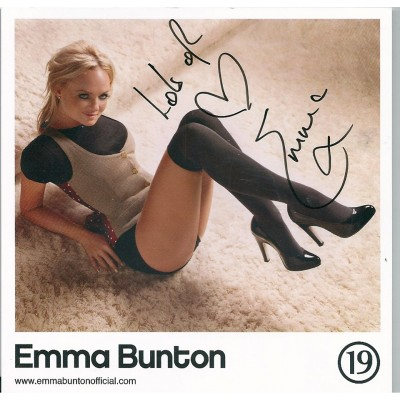 Emma Bunton autograph (Spice Girls)