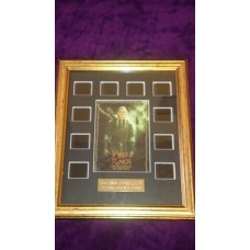 Sean Bean Signed Film Cells Montage (The Lord of the Rings)