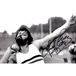 Geoff Capes autograph