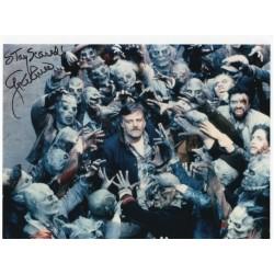 George Romero autograph