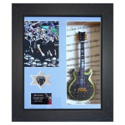Avenged Sevenfold Replica Framed Guitar & Plectrum Presentation