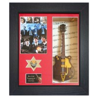 The Beatles Replica Framed Guitar & Plectrum Presentation - 1
