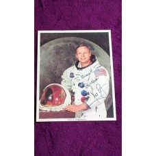 Neil Armstrong dedicated autograph