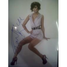 Frankie Sandford autograph (The Saturdays)