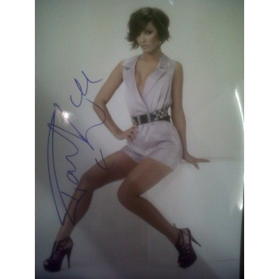Frankie Sandford autograph (The Saturdays)