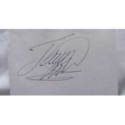 James 'The Machine' Wade autograph £39.99