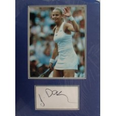 Jelena Dokic autograph