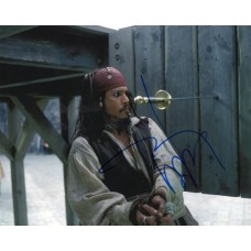 Johnny Depp autograph 2 (Pirates Of The Caribbean)