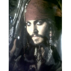 Johnny Depp autograph 3 (Pirates of the Caribbean)