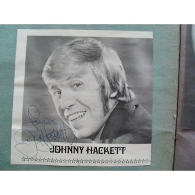Johnny Hackett autograph