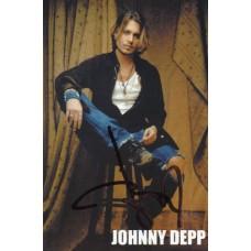 Johnny Depp autograph