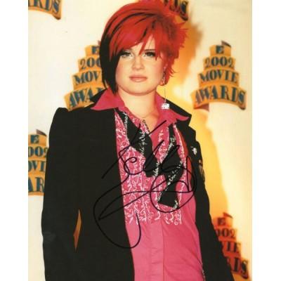 Kelly Osbourne autograph