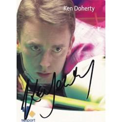 Ken Doherty autograph