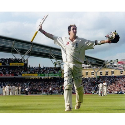 Kevin Pietersen autograph 2 (England)