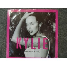 Kylie Minogue Signed Vinyl Record (What Kind of Fool)