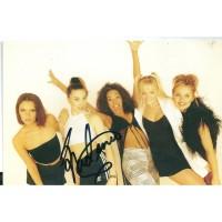 Melanie C autograph 1 (Spice Girls)