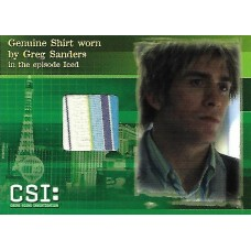Eric Szmanda Costume Card (CSI)
