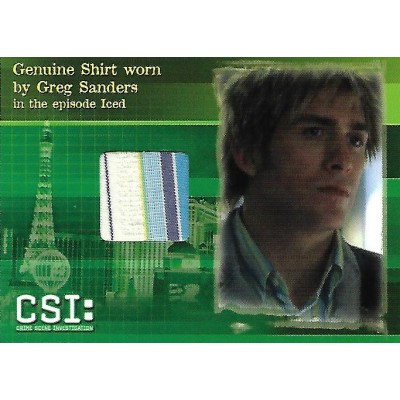Eric Szmanda Costume Card (CSI)