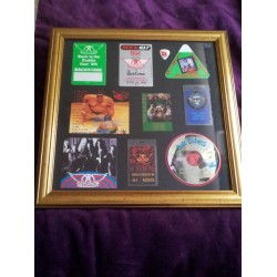 Aerosmith Framed Collection w/ Disc (Big Ones)