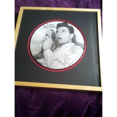 Cliff Richard Framed Vinyl (Move It)