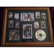 Janis Joplin Framed Collection w/ Disc
