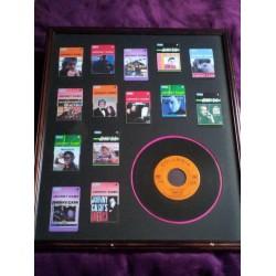 Johnny Cash Framed Collection w/ LP