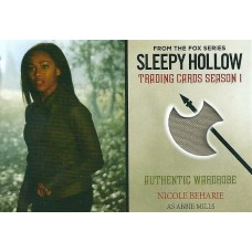 Nicole Beharie Costume Card (Sleepy Hollow)