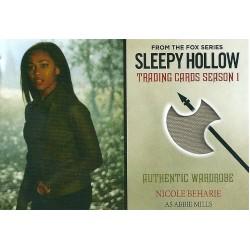 Nicole Beharie Costume Card (Sleepy Hollow)