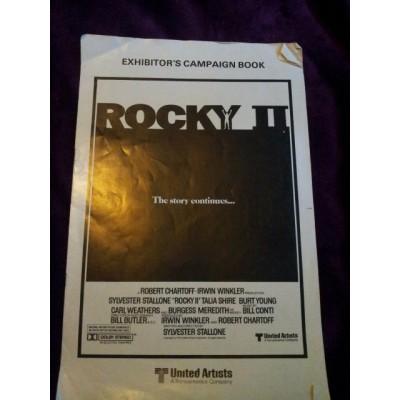 Rocky II Exhibitor's Campaign Book