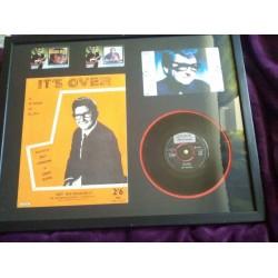 Roy Orbison Framed Collection w/ LP