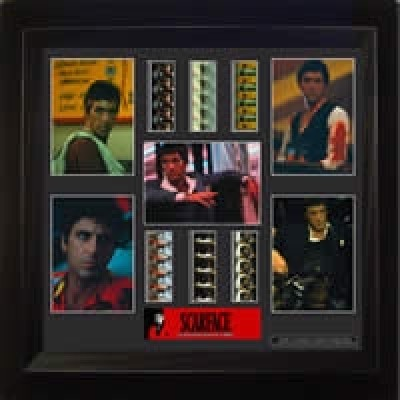 Scarface Film Cell Montage