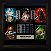 Star Wars Film Cell Montage 1