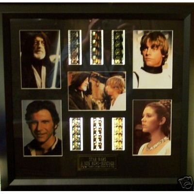Star Wars Film Cell Montage 2