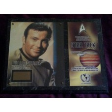 William Shatner Costume Card (Star Trek)