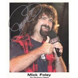 Mick Foley autograph
