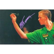 Michael van Gerwen autograph