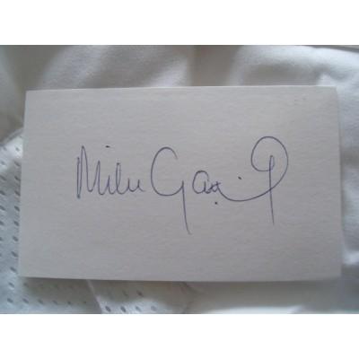 Mike Gatting autograph
