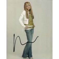 Miley Cyrus autograph 1 (Hannah Montana)