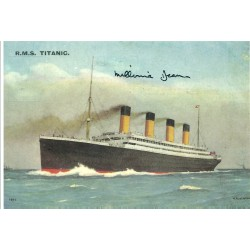 Millvina Dean autograph (R.M.S Titanic)