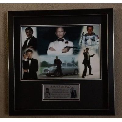 James Bond Actors Montage