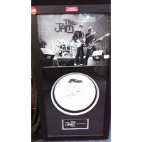 Rick Buckler Signed Drum Skin (The Jam)