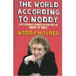 Noddy Holder Signed Book (The World According To Noddy)