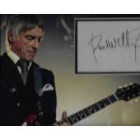 Paul Weller autograph 2 (The Jam)