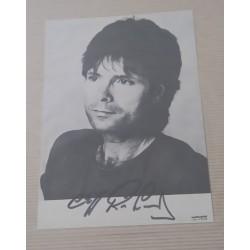 Cliff Richard autograph 2